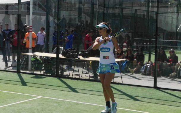 Marta Marrero, la número 1 del pàdel mundial, a Terrassa