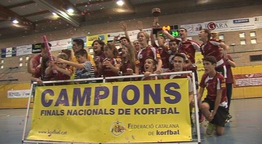 Assessoria Vallparadís-Montcada, semifinal del play-off pel títol a la Lliga Nacional de Corfbol