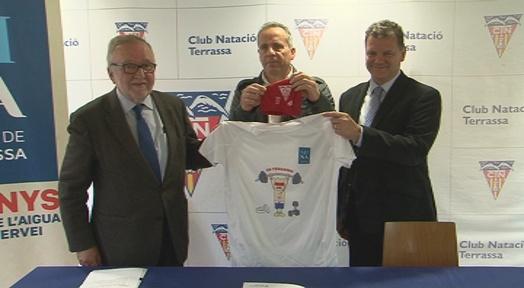 Mina i CNT renoven el conveni de col·laboració de suport a les escoles esportives