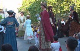 Gegants i bandolers s'uneixen en la celebració de la VI Diada Antoni Messeguer