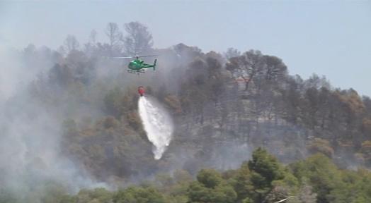 El Vallès Occidental ha patit aquest estiu 34 incendis que han cremat 54,5 hectàrees