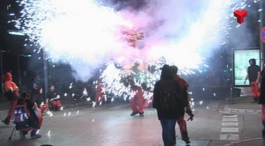 Foc i bèsties d'arreu a la Primera Trobada de Bestiari a la Canaurellada 2017
