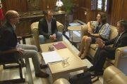 L'Ajuntament demana a Endesa que traslladi la línia d'alta tensió Adrall - Mas Figueres