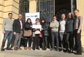 Cerclemón lliura els 2.000 euros de la recaptació del 5è Torneig Solidari de Pàdel a l'INS Mont Perdut