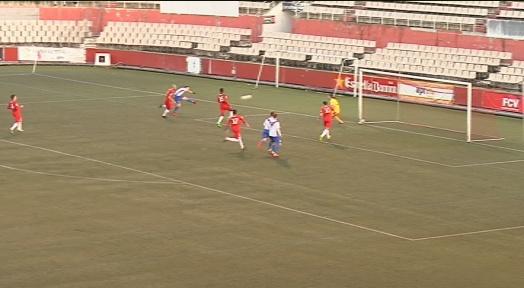 El Terrassa FC ofereix la seva pitjor versió i cau estrepitòsament davant l'Europa