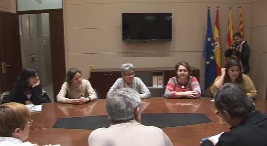 Els pares i mares d'alumnes de l'Escola El Vallès, en contra de l'adscripció única
