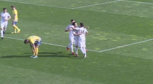 El Terrassa FC guanya el Palamós i aprofita la derrota de la Pobla de Mafumet per tornar al play-off