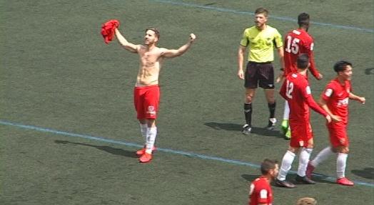 Un solitari gol de Toro en el minut 88 dóna la victòria a un Terrassa que es jugarà el play-off a Castelldefels