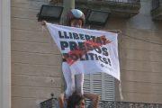 Minyons i Castellers aixequen pilars pels presos polítics i exiliats