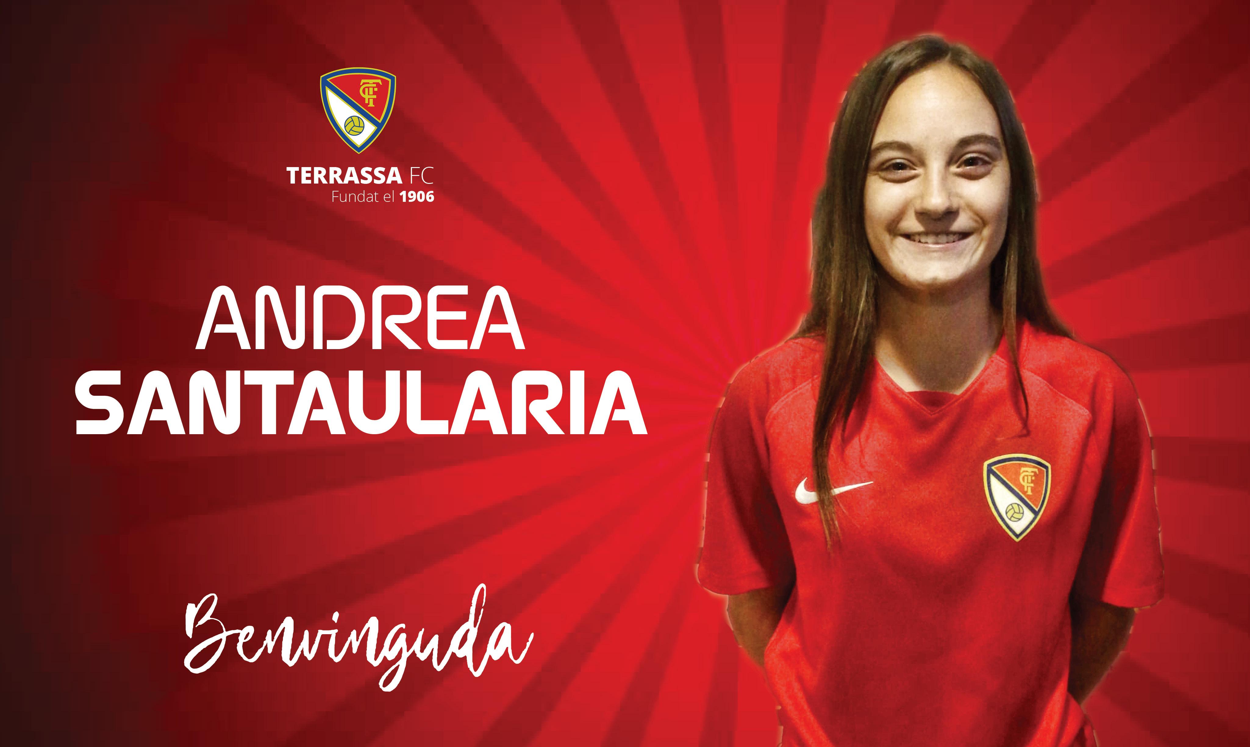 La portera Andrea Santaularia fitxa pel Terrassa FC femení