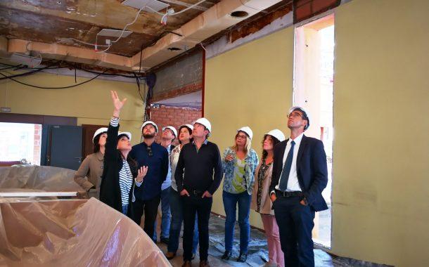 Les obres al recinte del Consell Comarcal del Vallès Occidental s'enllestiran a finals d'any