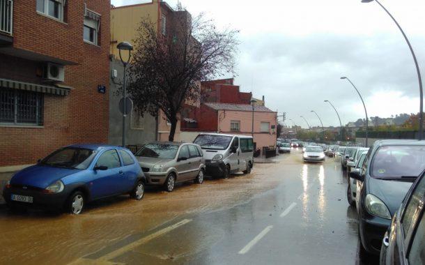 Activat en alerta el Pla d'Emergència Municipal per risc d'intensitat i acumulació d'aigua