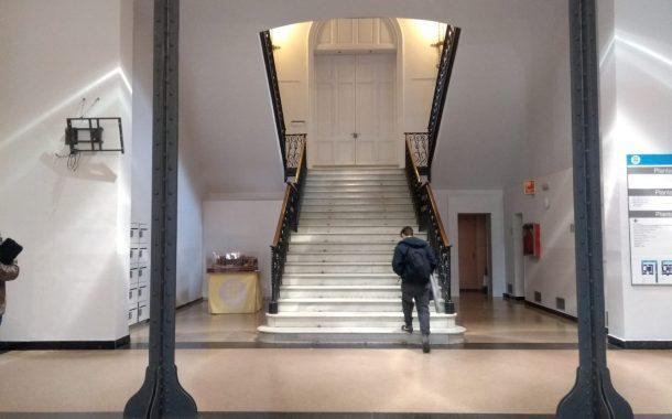 L'Escola Industrial estrena les obres de remodelació de diversos espais de l'edifici modernista