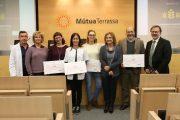 MútuaTerrassa lliura els premis de les beques de la seva Fundació Docència i Recerca