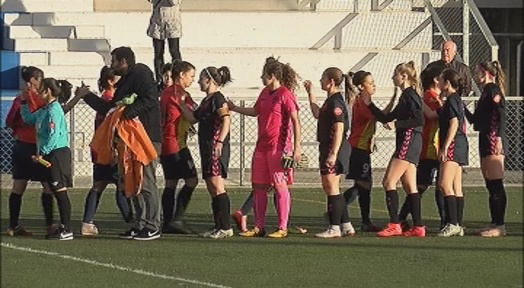 Derrota injusta i per la mínima del Manu Lanzarote contra l'Atlètic Vilafranca (0-1)