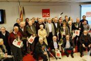 El PSC de Terrassa celebra un acte de reconeixement als seus militants més veterans i veteranes