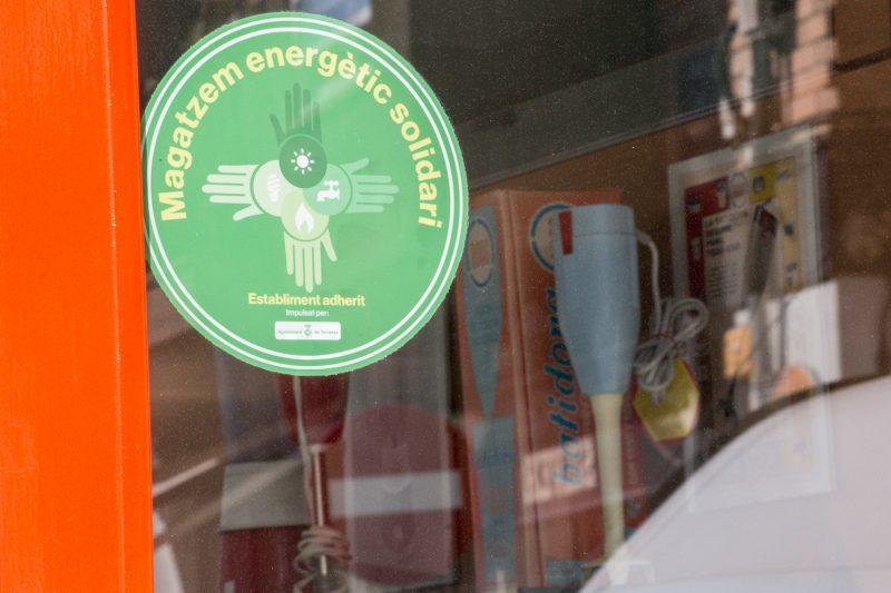 Les empreses col·laboradores amb el Magatzem Energètic Solidari estrenen distintius
