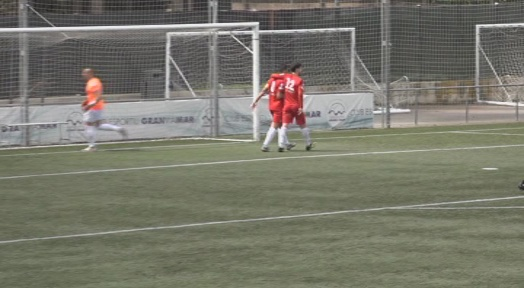 El Terrassa FC es retroba amb la victòria a Castelldefels (0 a 3)