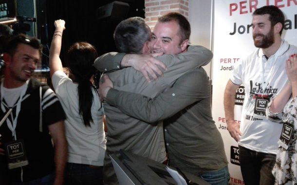 Tot per Terrassa de Jordi Ballart guanya les eleccions a la ciutat amb el 99,16% escrutat