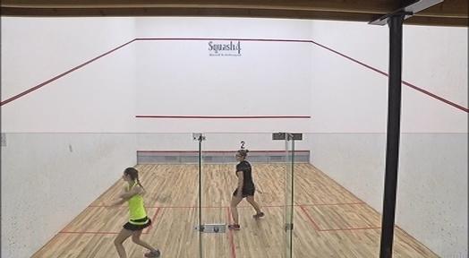 Noa Romero i Iker Pajares es proclamen campions de Catalunya a l'Squash 4