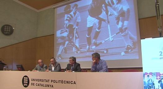 Xerrada sobre els 25 anys dels Jocs Olímpics a l'Aula Gran