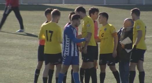 Suspès el partit Lleida Esportiu
