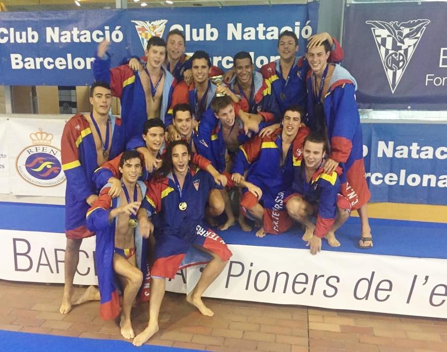 El CN Terrassa es proclama campió d'Espanya juvenil masculí en derrotar el CN Barcelona a la final