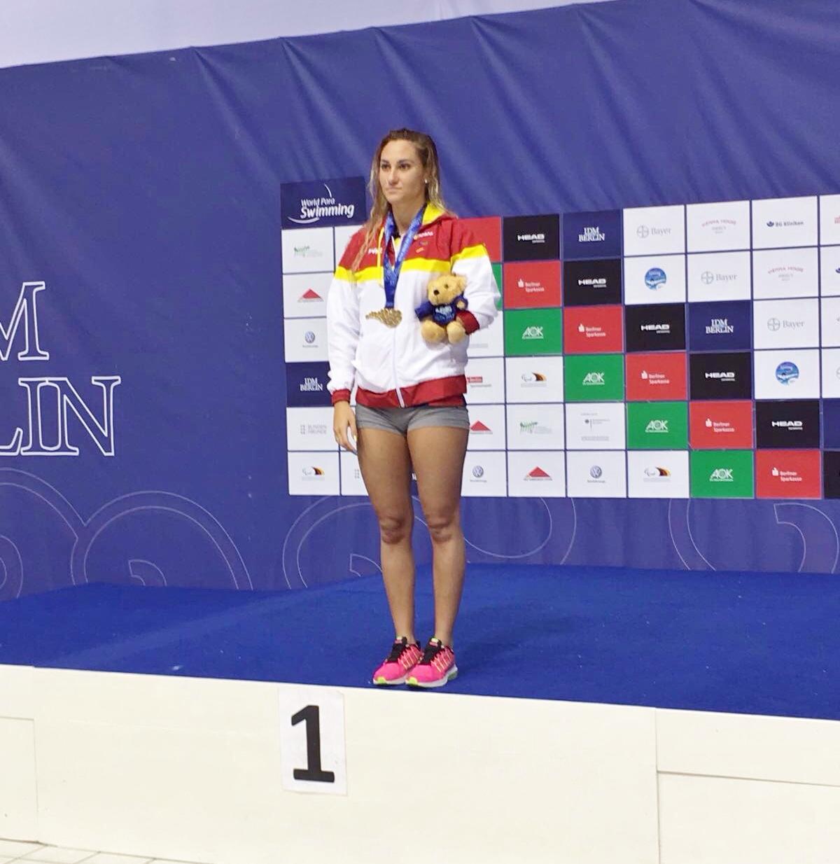 Set medalles per a Sarai Gascón i José Antonio Marí a l'Open Internacional d'Alemanya