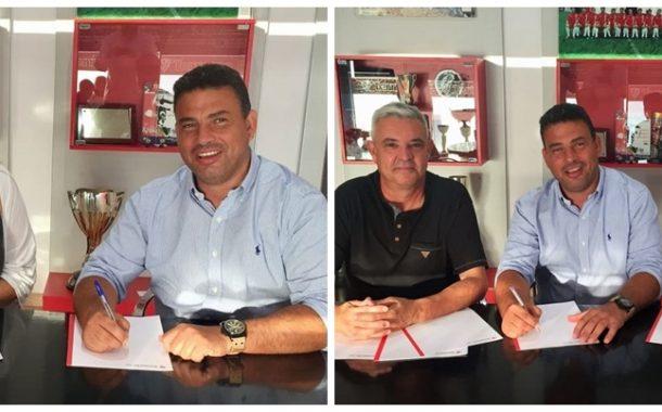 El Terrassa FC tanca acords de col·laboració amb CD Can Parellada i CE Vacarisses