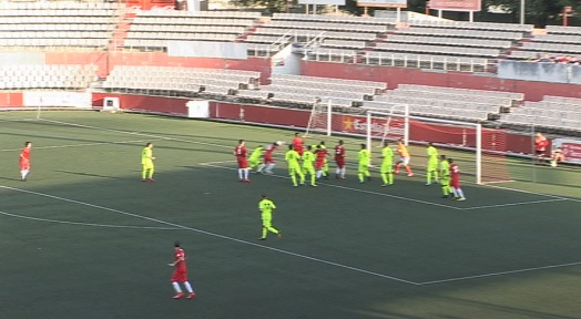 Un Terrassa FC molt irregular no passa de l'empat a casa contra el FC Santboià (1-1)