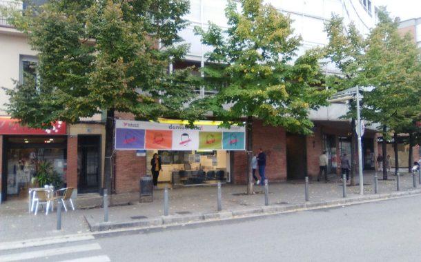 C's Terrassa adverteix que es fan servir espais públics de la ciutat per fer propaganda de l'1-O