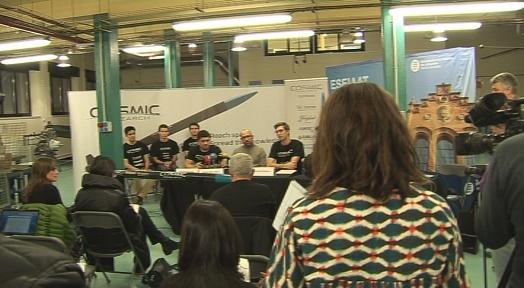 Un equip d'estudiants de la UPC vol ser el primer en llançar un coet a l'espai exterior