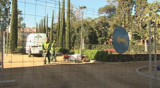 Un projecte de substitució del paviment dels camins del Parc de Sant Jordi millorarà la seva seguretat