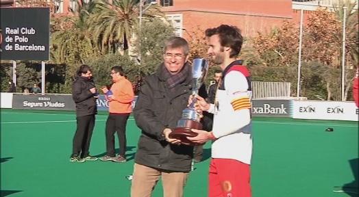 El RC Polo revalida el Campionat de Catalunya en superar 4 a 0 el Club Egara