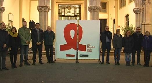 Terrassa commemora el Dia Mundial de la Lluita contra la Sida