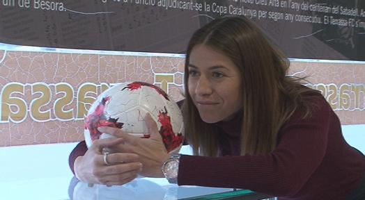 El Primer Campus Internacional de futbol Vicky Losada portarà Lieke Martens a l'Estadi Olímpic