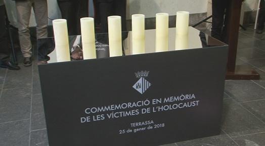 Homenatge a les víctimes de l'Holocaust i als sis col·lectius més afectats per la barbàrie