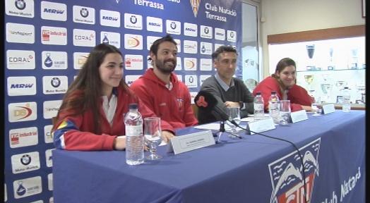 Un CN Terrassa en plena forma es conjura per disputar la final de la Copa de la Reina de waterpolo
