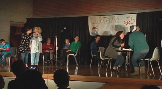 """El Club Social Egara estrena l'obra, la """"Cafeteria Alegria"""""""