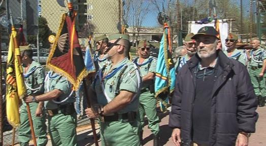 Els Legionaris homenatgen la Setmana Santa de Màlaga a Terrassa