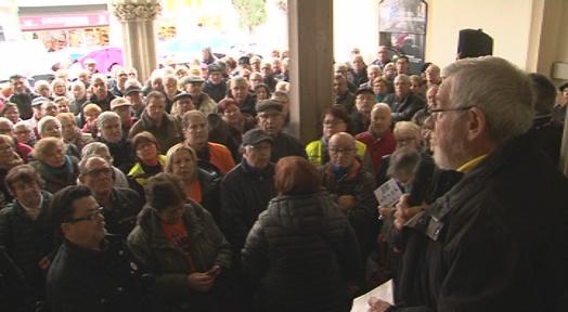 Jubilats i pensionistes tornen a reclamar un sistema de pensions digne i sostenible