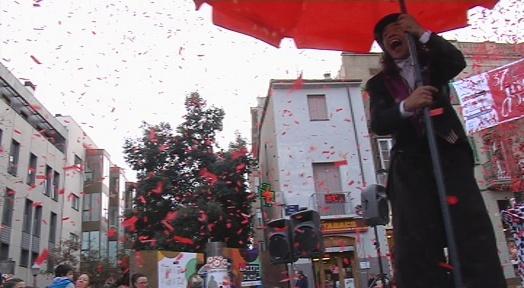 Un espectacle infantil tanca a la plaça Vella la Setmana del Consum