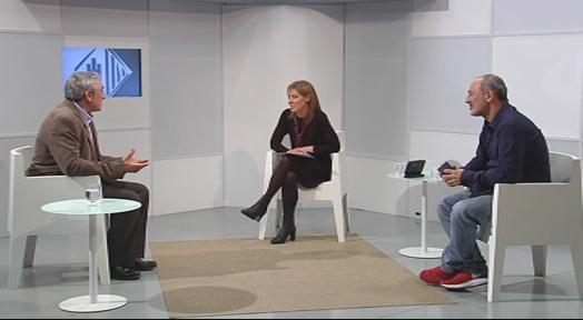L'alcalde Alfredo Vega és entrevistat aquesta nit a Canal Terrassa