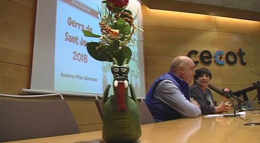 El Drac de Terrassa, figura del Gerro de Sant Jordi 2018