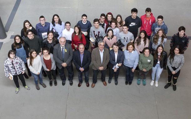 Entrega dels Premis de Recerca de Batxillerat al mNACTEC