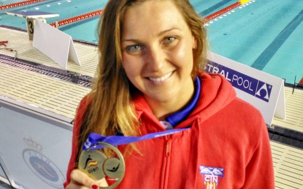Melani Costa, campiona d'Espanya en 200 metres lliures i bronze per a Carmen Herrero en 50 lliures