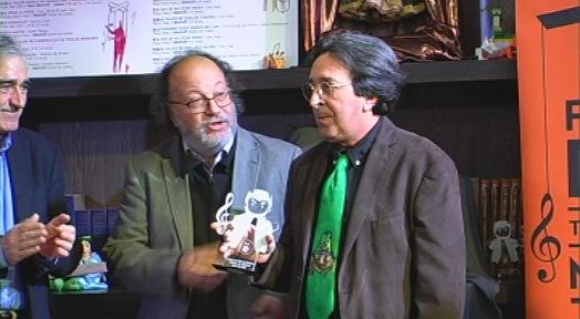 El Festival Didó arrenca amb un reconeixement a Ramón Sánchez, deixeble d'Ezequiel Vigués