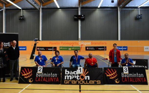 L'egarenc Carles Millera, plata en dobles al Campionat d'Espanya de Parabàdminton