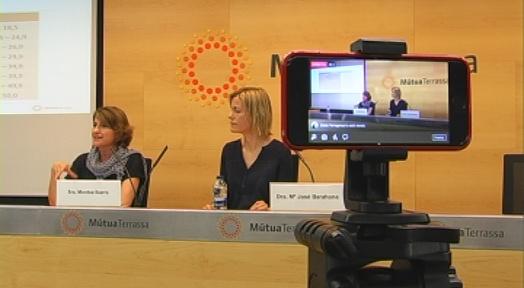 Sessió a Mútua sobre com evitar el sobrepès i prevenir malalties