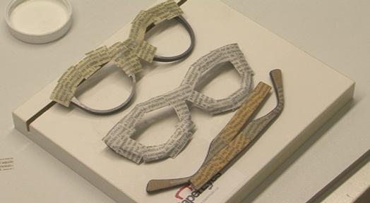 PaperEyes és una empresa terrassenca que fa ulleres ecològiques, artesanals i exclusives